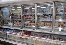 冷凍品コーナー
